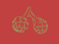 A for artichoke