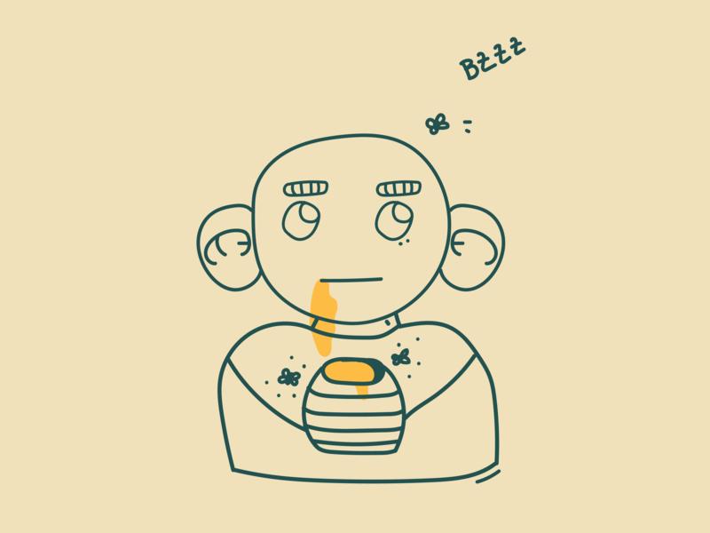 The boy and the honey ear yellow comics manga honey boy