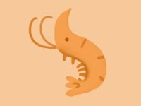 Go to the shrimp