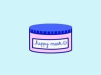 Happy mask, happy face