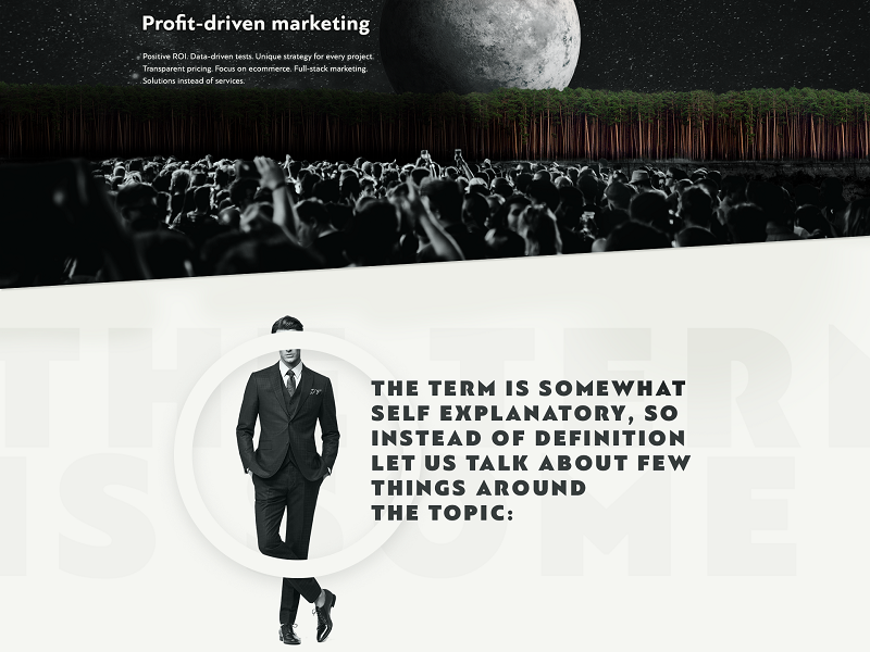 Profit driven marketing