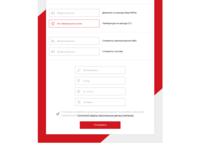 Contact form snapshot
