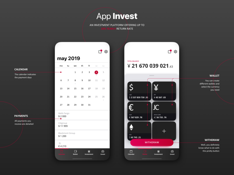 App That Must Not Be Named (aka NDA) --preview by GRIN tech on Dribbble