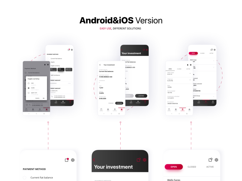 App That Must Not Be Named (aka NDA) --Android vs. iOS mobile app investment app react native