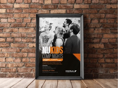 Highball Nukids Poster print typography graphic design poster