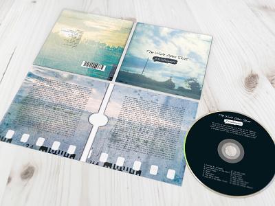 Cd Album Design For Print Table Spread typography graphic design print album artwork cd album