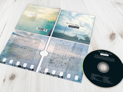 Cd Album Design For Print Table Spread typography graphic design print album artwork cd album