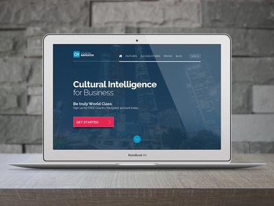 Country Navigator Website Design graphic design corporate web design web