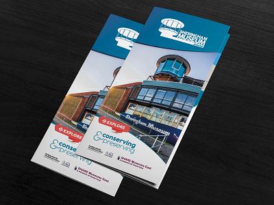Sheringham Museum Brochure branding graphic design design print flyer brochure