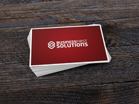 Business First Solutions Logo Design