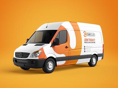 Car Club Vehicle Livery Concept logo logo design brand design graphic design