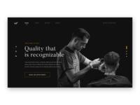 Baf Hairdresser Landing Page