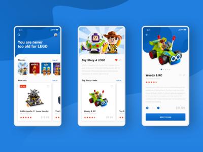 LEGO App Concept