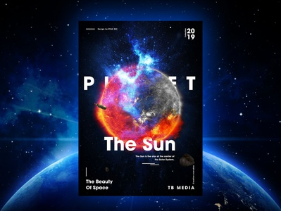 The Beaty of Space - Poster