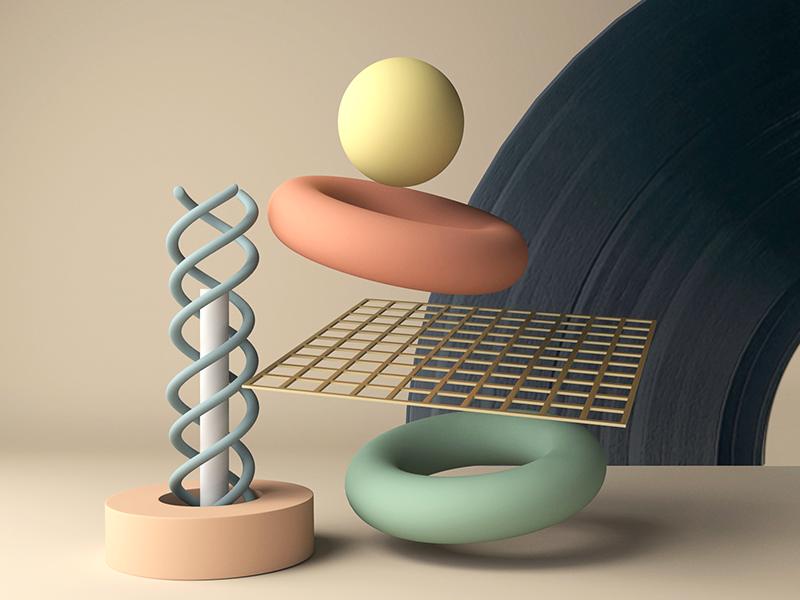 Vinyl Record Sun animation shape arnoldrender color maya texture vinyl record glaxy illustration geometric arnold 3d