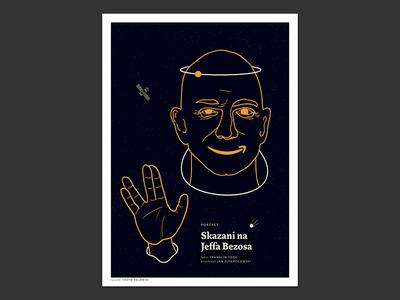 Jeff Bezos's Master Plan graphics 2020 portrait illustrator illustraion editorial illustration editorial