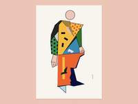 Victory over the Sun print 2020 illustration plakat poster dribbble graphics avantgarde abstract art abstract art