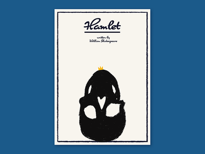 Hamlet plakat visual communication graphics graphic design design theatre art illustration hamlet poster