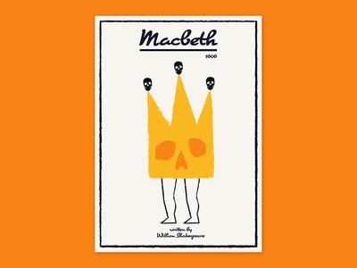 Macbeth visual communication plakat poster poster art theatre illustration macbeth graphics design art
