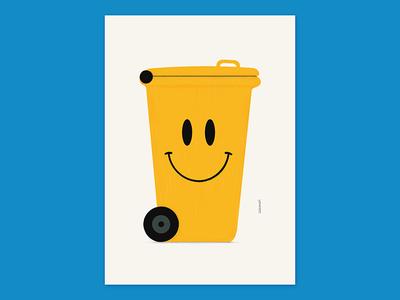 'Optimism' illustration art poster art artwork 2019 optimism graphic design dribbble design drawing visual communication plakat funny illustrator graphics poster print illustration art