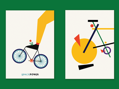 SPACEROWER eco rower kandinsky abstract drawing 2019 graphic design graphics visual communication print dribbble cycling plakat illustration art art illustrator illustration poster design poster art poster