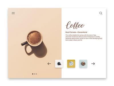 Coffee Website