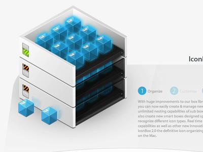 Icon Containment Unit iconbox iconblock pixel icon box cube square