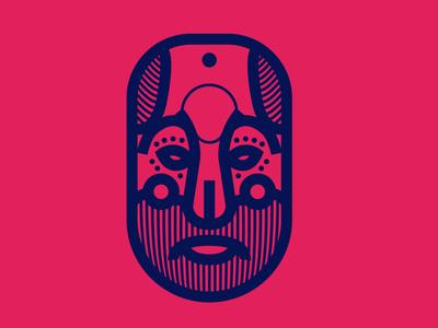 Guatemalan mask