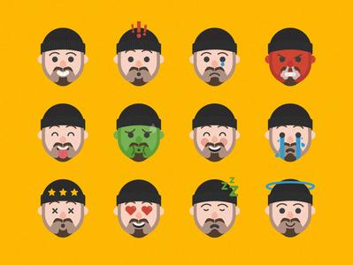 Emoji/Emote Designs