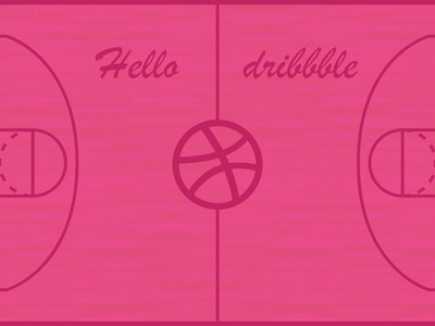 Hello dribbble sketch basketball ux hello dribbble debut