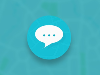 Daily UI 005 - App Icon app chat design material app icon daily ui