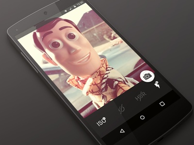 Daily UI 007 - Settings android settings app camera material design dailyui