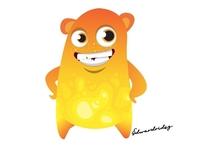 Wonderful + Cute Monster Cartoon characters