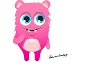 Wonderful + Cute Monster Cartoon characters 2