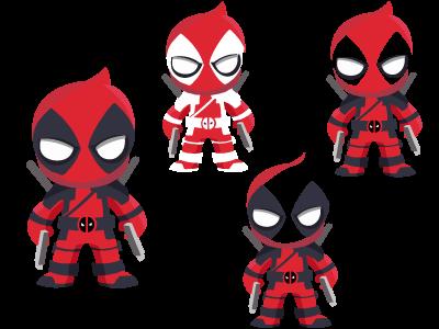 Deadpool vector Deadpool ART -High resolution