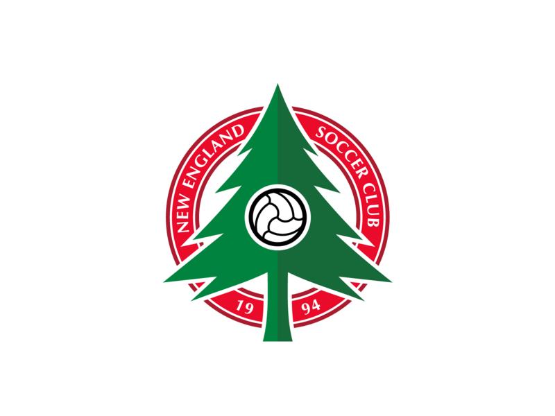 cc8dbc1794f New England Soccer Club Badge by Alphonse DePalma
