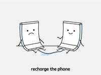 recharge the phone