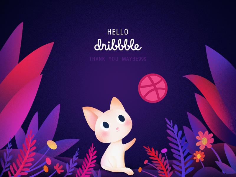Hello Dribbblers! dribbblers! hello