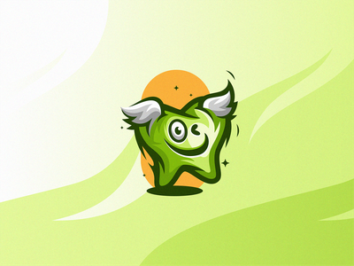 Cute - Smiley - Dental - Character healthy character smile dental branding illustration modern symbol design simple icon mark logo