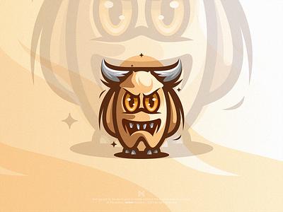 Rangarang™ character illustration modern symbol simple design mark logo