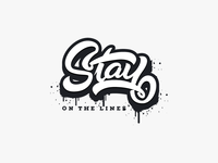 Lettering - Stay On The Lines