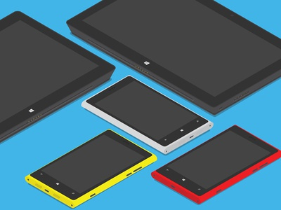 Isometric Windows Devices