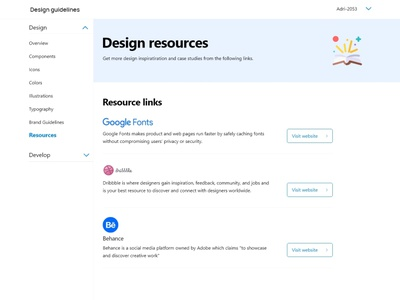 working on creating a design system for a web app design app design system