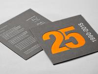 Ecosens – Invitation Card