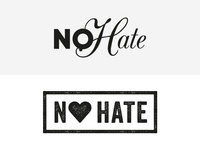 Fashion label NO HATE