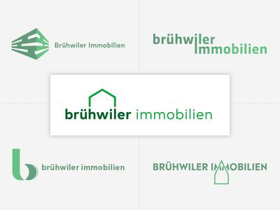 Logo concepts Brühwiler Immobilien