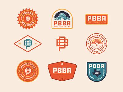 PBBA Badges logos identitydesign logo design branding graphicdesign illustration logodaily logodesign badge logo badges badge design