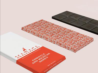 Maraca Mexican Chocolate packaging design product design packaging logo design brand concept brand identity branding