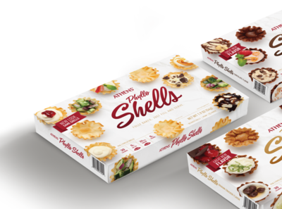 Phyllo dough packaging redesign