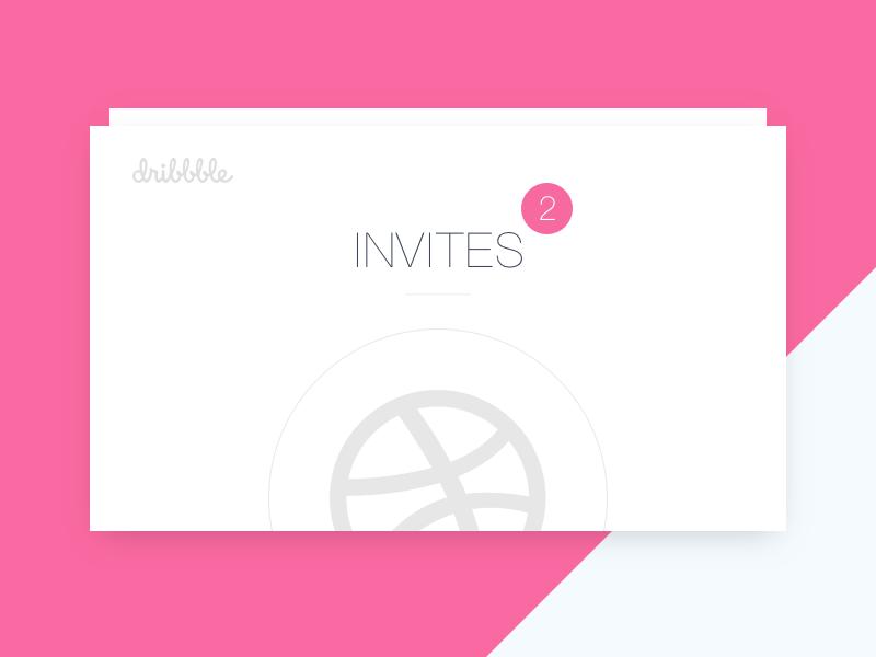 Dribbble invitation invite invitations dribbble design